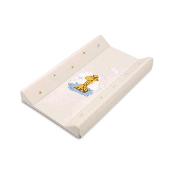 Matrace přebalovací DINO T 70, tvrdá, béžová, žirafa, 032