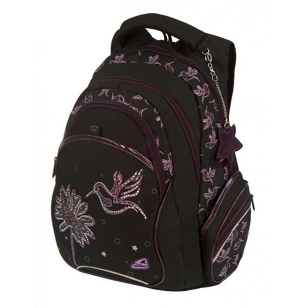 Studentský batoh Kolibřík černá Walker