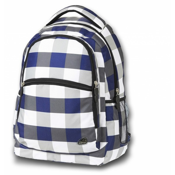 Studentský batoh Classic káro Walker