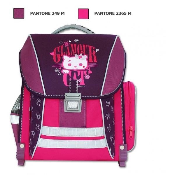 Školní batoh Glamour Cat Emipo