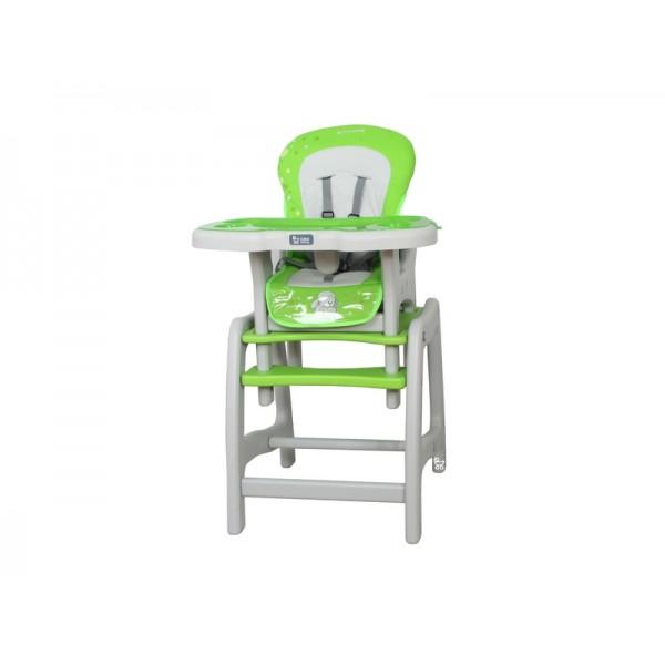 Coto Baby Stars zelená jídelní židlička