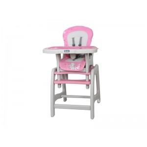 Jídelní židlička STARS růžová- Cotobaby