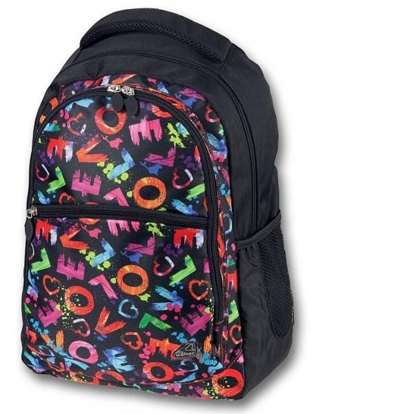 Studentský batoh Classic multicolor Walker