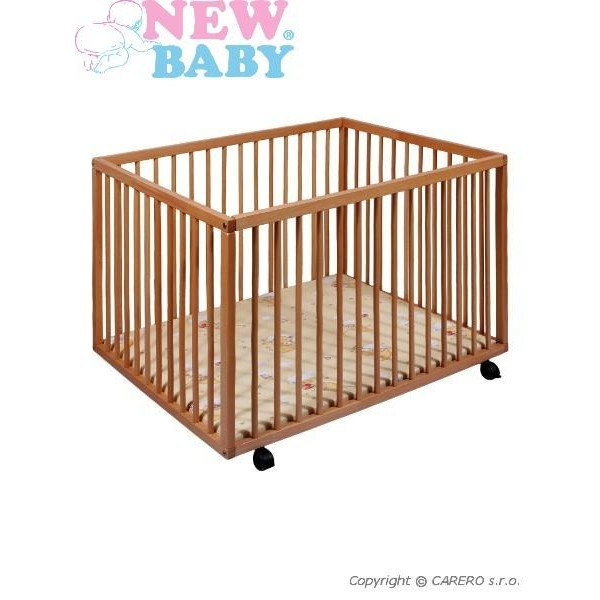 Dětská dřevěná ohrádka New Baby Lily