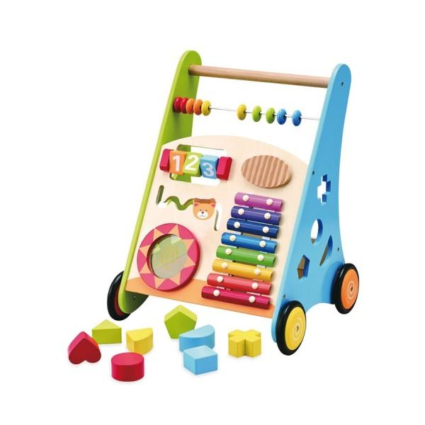 55bfa643776c3 Dětské dřevěné edukační chodítko Baby Mix - Dětská lehátka