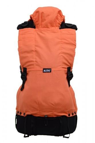 Ergonomické nosítko kibi- oranžové pruhy
